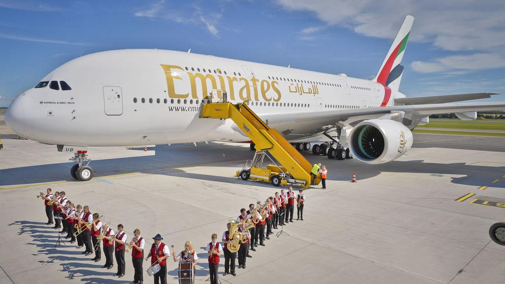 After 10 years of flights Emirates A380 continues to boggle imagination of the travelers. Part 3
