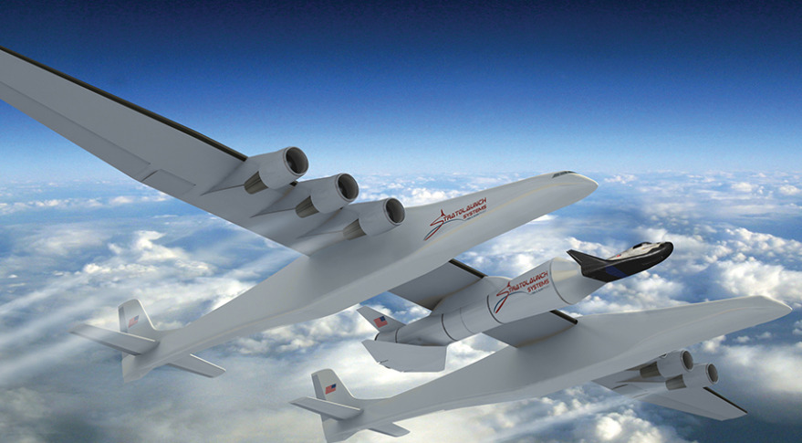 The airplane with the longest wings has passes through new tests
