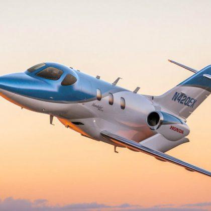 Honda has delivered first airplane HondaJet Elite