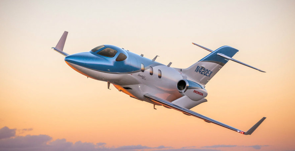 Honda has delivered first airplane HondaJet Elite