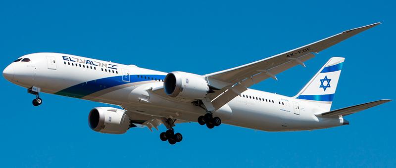 """Seat map Boeing 787-9 Dreamliner """"El Al"""". Best seats in the plane"""