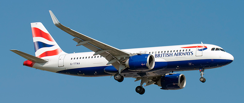 British Airways Airbus A320-200NEO