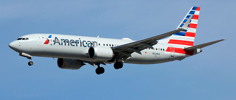 American Airlines Boeing 737-8 MAX