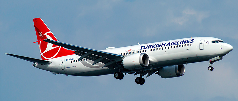 Turkish Airlines Boeing 737-8 MAX