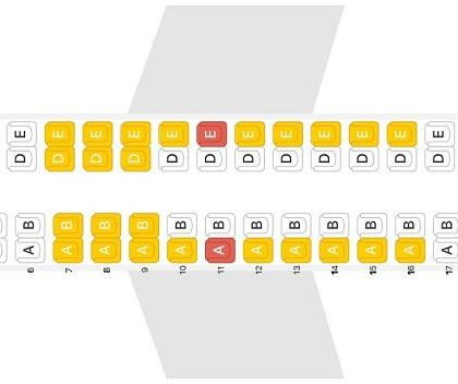 "Seat map De Havilland Canada DHC-8-400 ""Alaska Airlines"". Best seats in the plane"