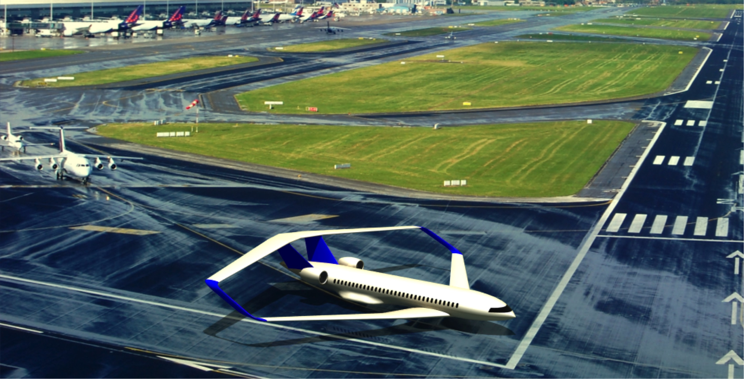 Scientists from European Union will change design of airplane's wing. Part 1