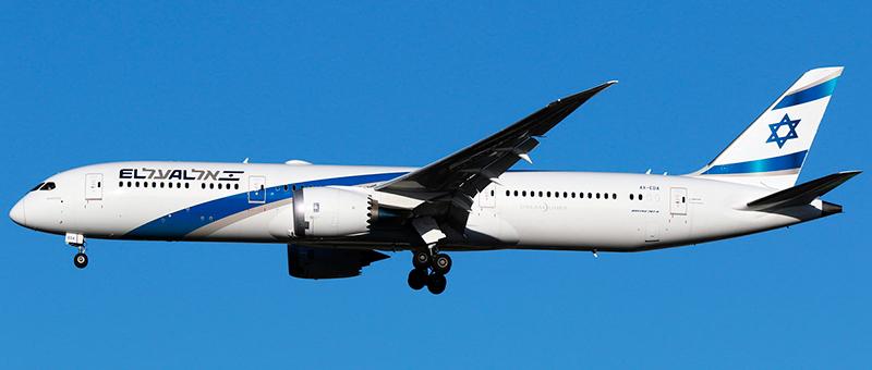 Boeing 787-9 Dreamliner El Al. Photos and description of the plane