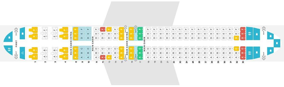 American Airlines Boeing 737 Seat Map Elcho Table