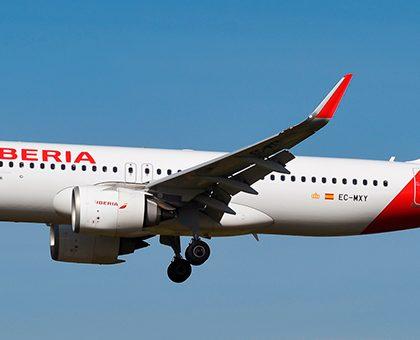 Airbus A320neo Iberia. Photos and description of the plane
