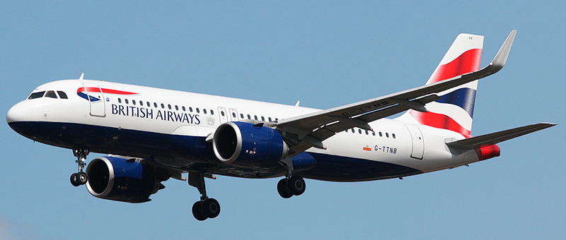 Airbus A320neo British Airways. Photos and description of the plane