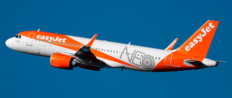 """Seat map Airbus A320neo """"EasyJet"""". Best seats in the plane"""