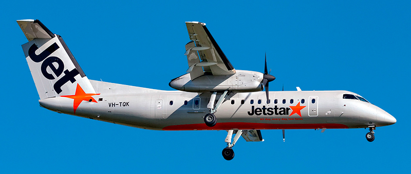 De Havilland Canada DHC-8-300 Jetstar. Photos and description of the plane