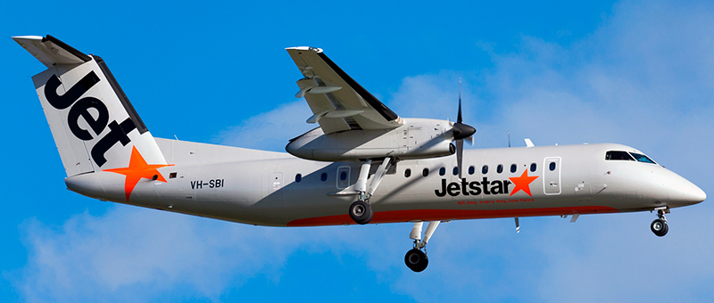 """Seat map De Havilland Canada DHC-8-300 """"Jetstar"""". Best seats in the plane"""