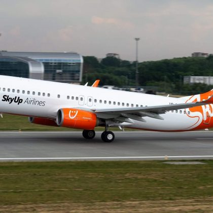 SkyUp Airline Company got fifth Boeing 737NG