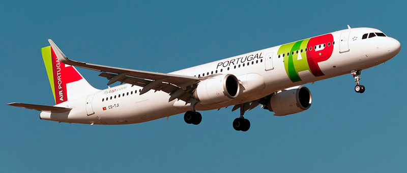 Airbus A321neo TAP Portugal. Photos and description of the plane