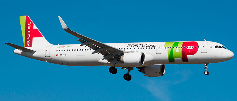"""Seat map Airbus A321neo """"TAP Portugal"""". Best seats in the plane"""