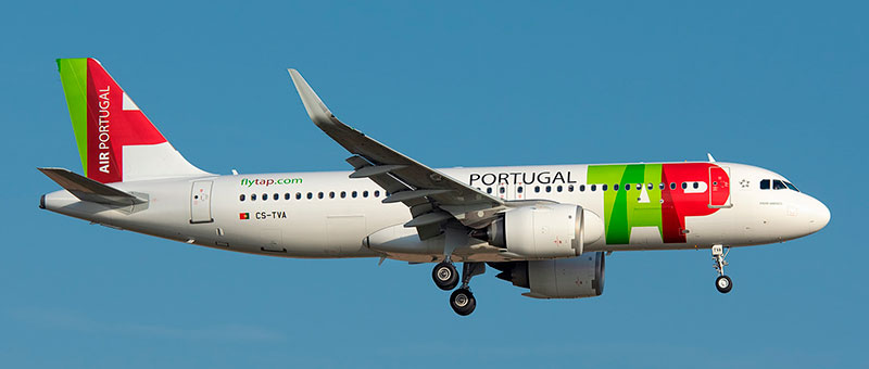 Airbus A320neo TAP Portugal. Photos and description of the plane