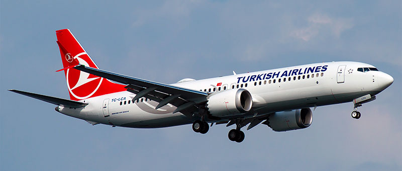 """Seat map Boeing 737 MAX 8 """"Turkish Airlines"""". Best seats in the plane"""