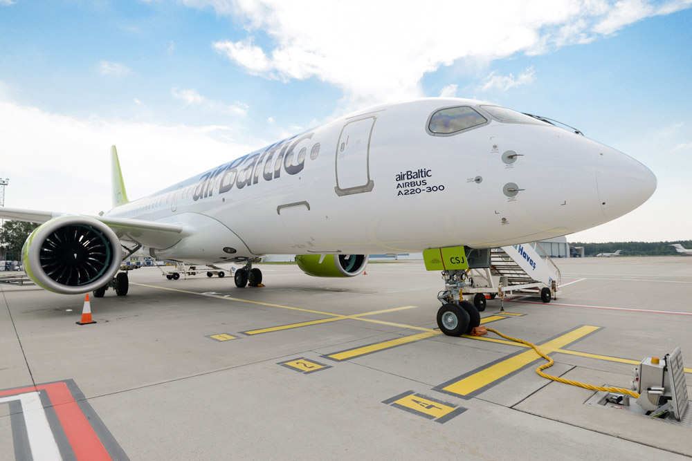 AirBaltic will immerse in Airbus A220 maintenance