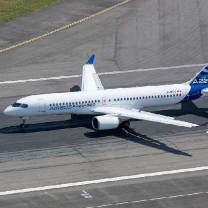 Canadian aviation authorities approved ETOPS 180 standards for Airbus A220