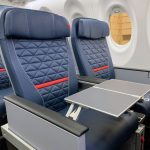 Delta Air Lines Airbus A220 First Class Seats