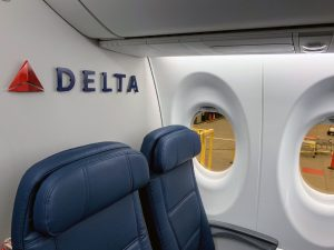 Delta Air Lines Airbus A220 Row 28