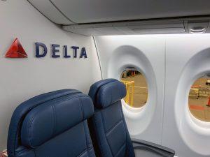 Delta Air Lines Airbus A220 Row 28