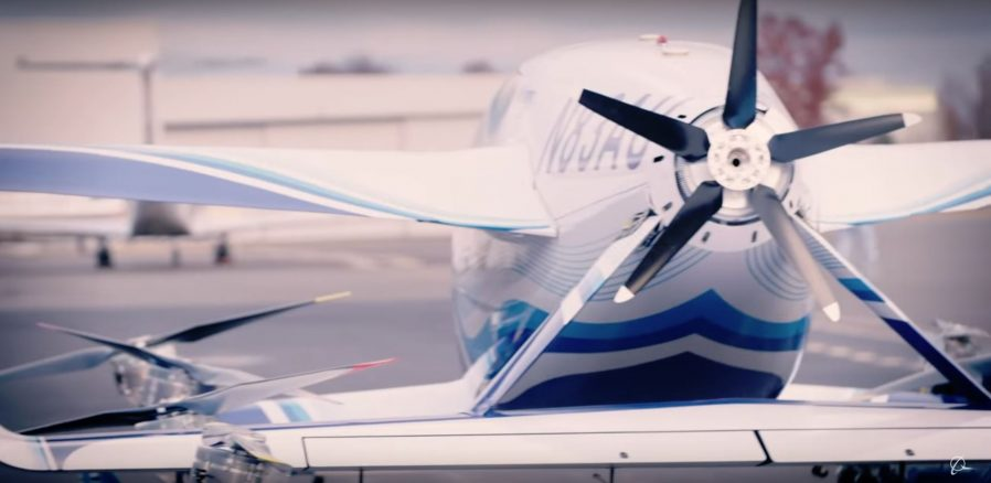 Boeing tested electric air-taxi