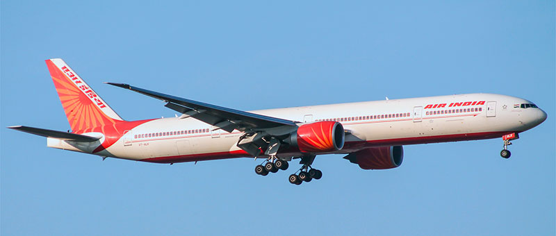 Boeing 777-300 Air India. Photos and description of the plane