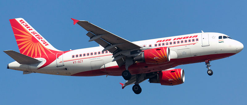 Airbus A319-100 Air India. Photos and description of the plane