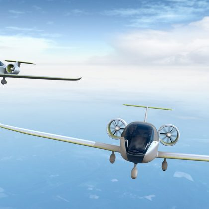 Airbus began to develop races of electric airplanes