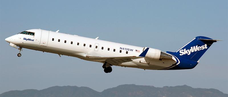 Bombardier CRJ-100 SkyWest. Photos and description of the plane