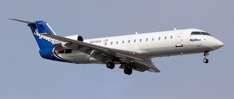 Bombardier CRJ-200 SkyWest. Photos and description of the plane