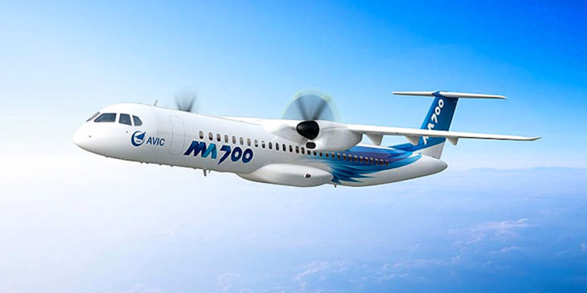 China is getting ready to the tests of the first prototype of regional airplane MA-700
