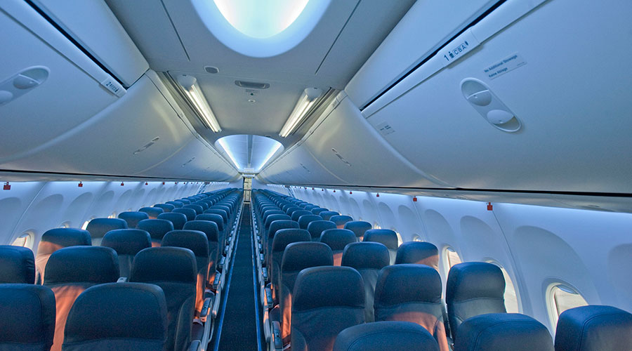 Experts told how to choose seats in the airplane for a comfort flight