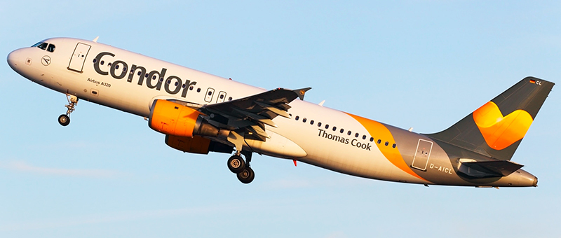 Airbus A320-200 Thomas Cook. Photos and description of the plane