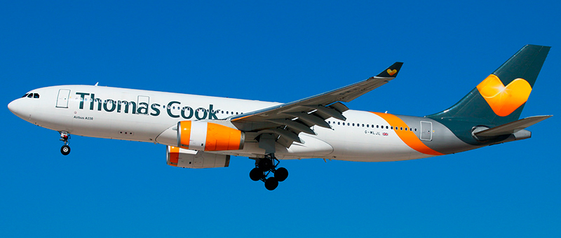 Airbus A330-200 Thomas Cook. Photos and description of the plane