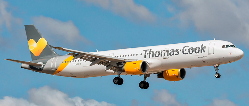 Airbus A321-200 Thomas Cook. Photos and description of the plane