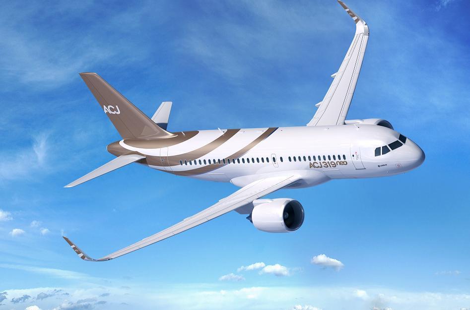 Airplane ACJ319neo has made successful first flight