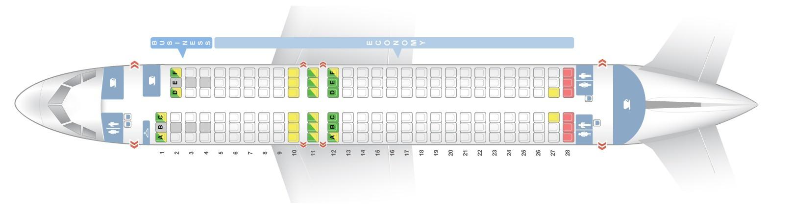 "Seat map Airbus A320-200 ""Finnair"". Best seats in the plane"