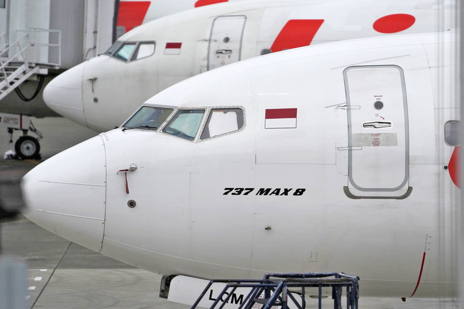 Boeing reduced production of problem airplanes 737 MAX