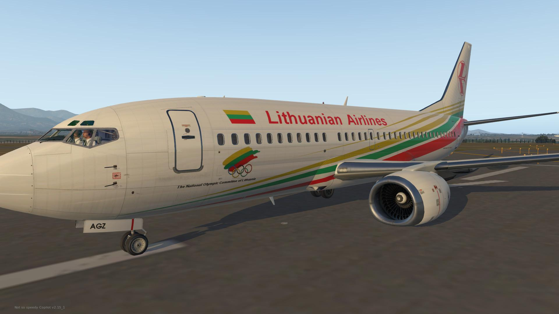 Lithuanian became the only passenger of the flight to Italy