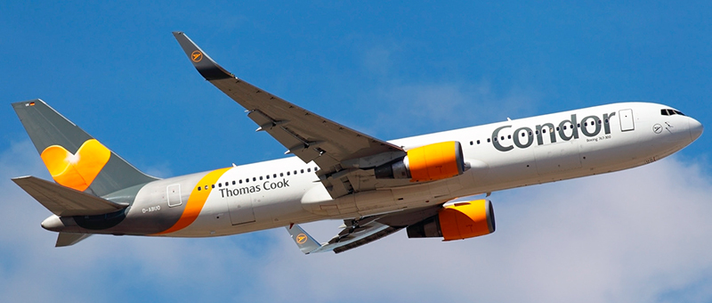 Boeing 767-300 Thomas Cook. Photos and description of the plane