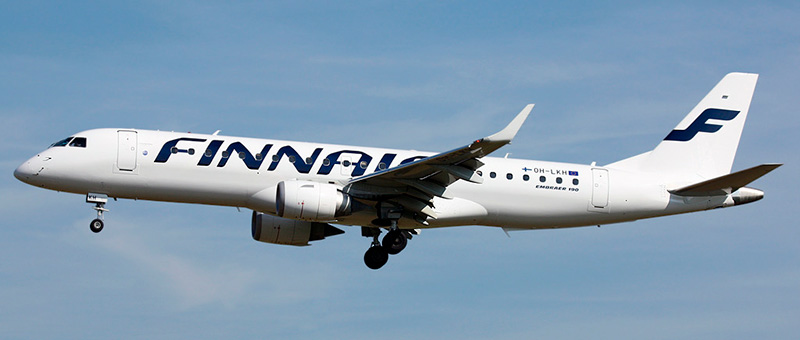 Embraer ERJ-190 Finnair. Photos and description of the plane