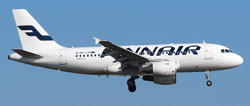 Airbus A319-100 Finnair. Photos and description of the plane