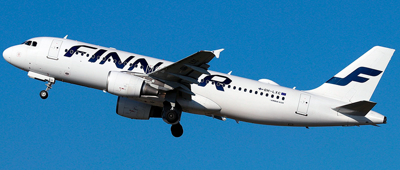 Airbus A320-200 Finnair. Photos and description of the plane