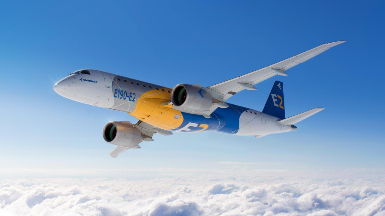 Deliveries of commercial Embraer airplanes in the first quarter reduced. Part 2