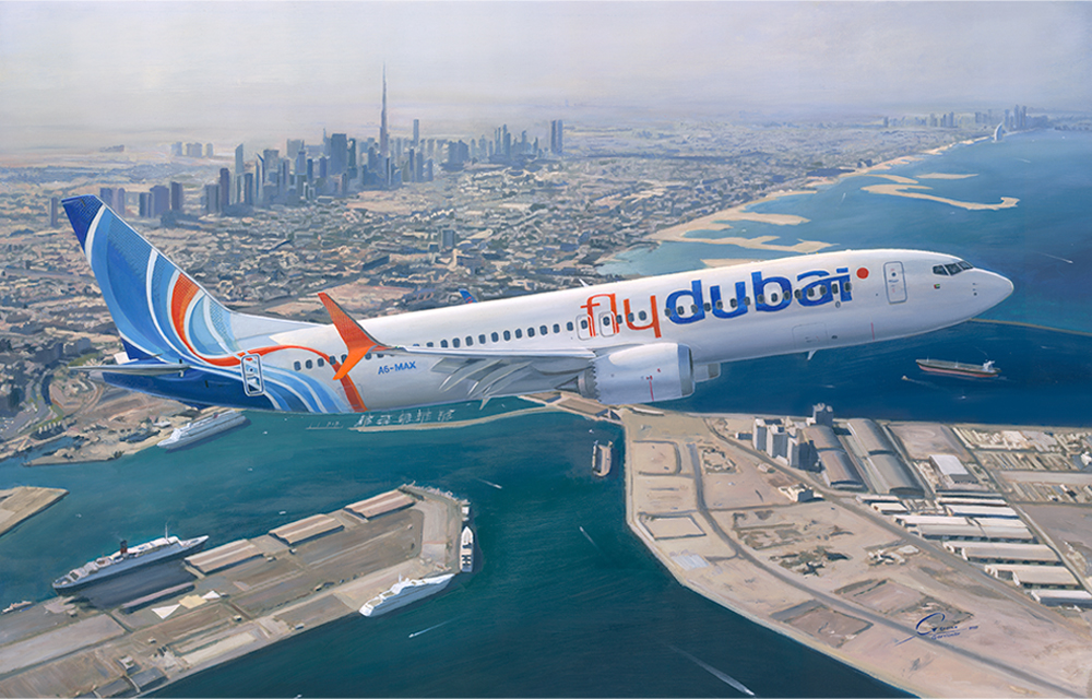 Flydubai discusses with Airbus delivery of the airplanes to replace Boeing 737 MAX