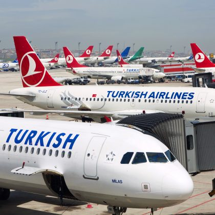 Turkish Airlines opens five business lounges in the new Istanbul airport. Part 1