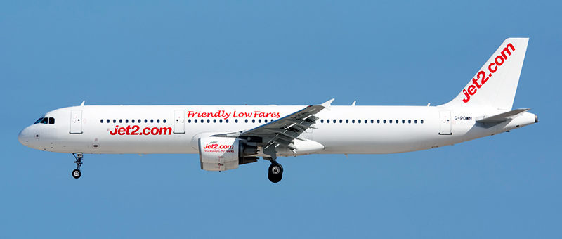 Airbus A321-200 Jet2Com. Photos and description of the plane
